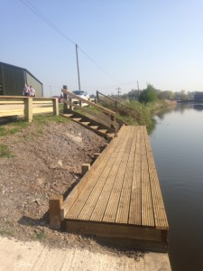 Landing stage after